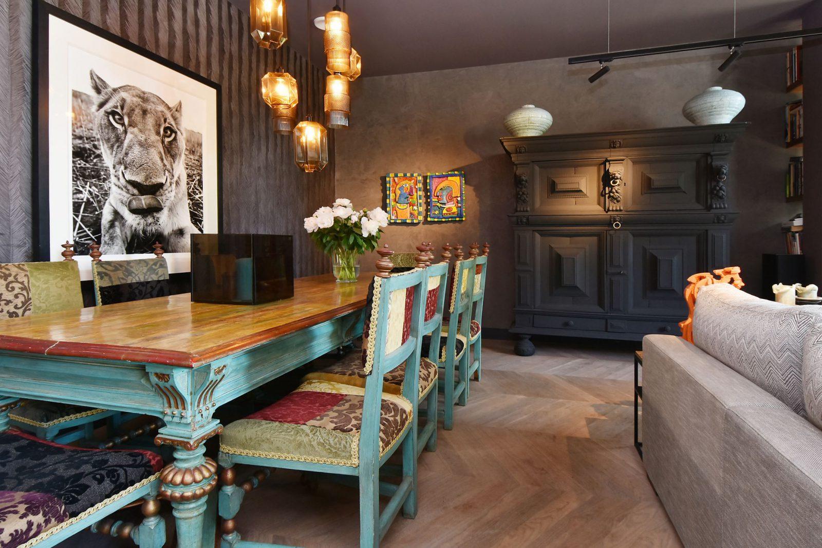Willemspark: Decoratieve wandafwerking
